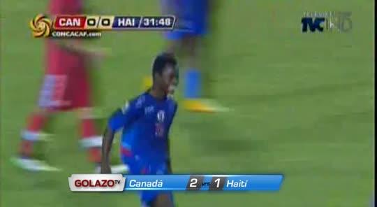Canadá 2-1 Haití