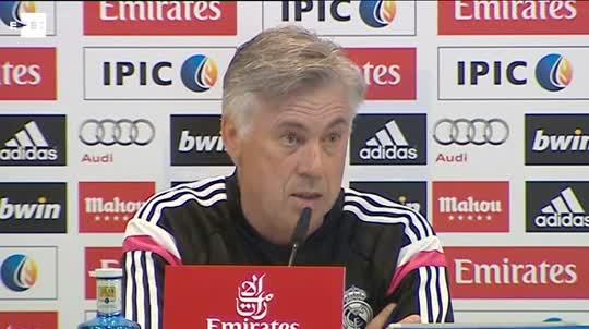 Ancelotti 'Estamos pendientes de Pepe y Modric'