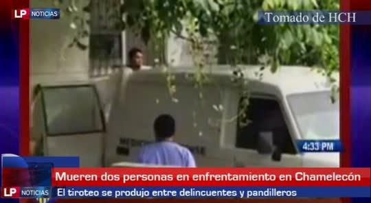 Dos muertos en tiroteo en Chamelecón
