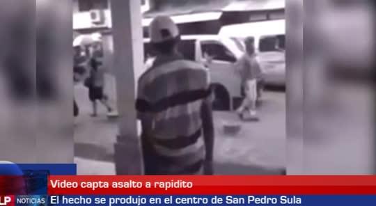 Video capta asalto a rapidito en SPS