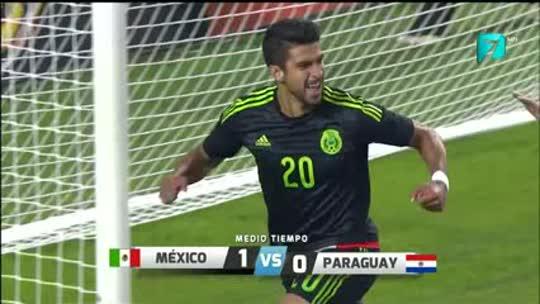 Amistoso México 1-0 Paraguay