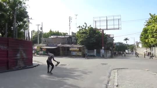 Soldados de Naciones Unidas abren fuego contra manifestantes en Haiti