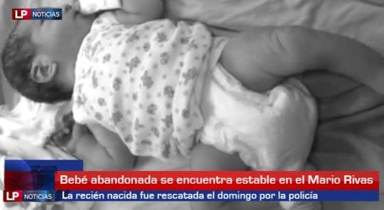 Dejan abandonada a bebé en San Pedro Sula 0509