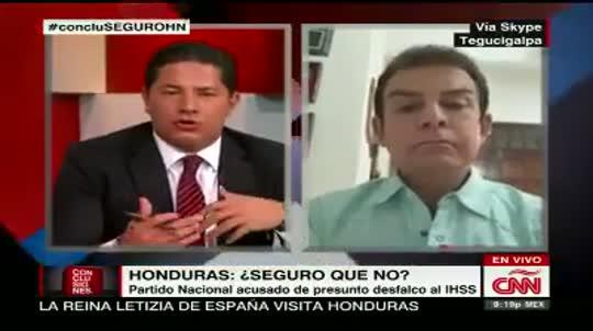 CNN hace eco de acusaciones en contra del PN en Honduras 0509