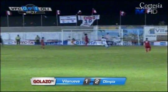 Villanueva 1-2 Olimpia