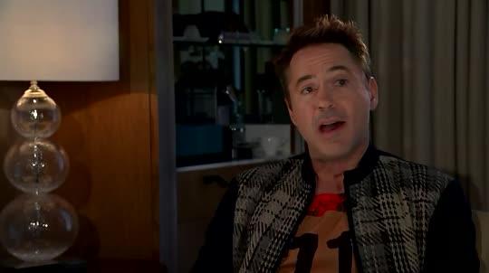 Robert Downey Jr abandona entrevista tras pregunta incómoda 0509