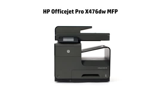 HP Officejet Pro X476dw Overview