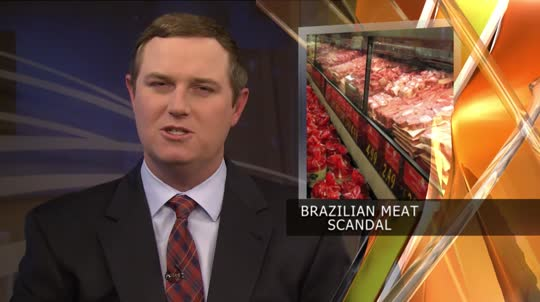 Brazil Loses Millions of Dollars after Meat Scandal 3/29/17