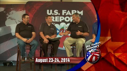 U. S. Farm Report: 08/23/2014