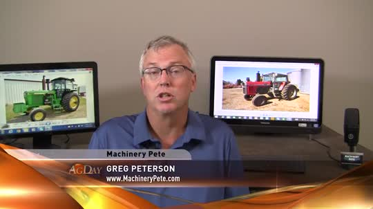 AgDay - Machinery Pete: Small HP, Older Tractors Still Hot - 7/25/16