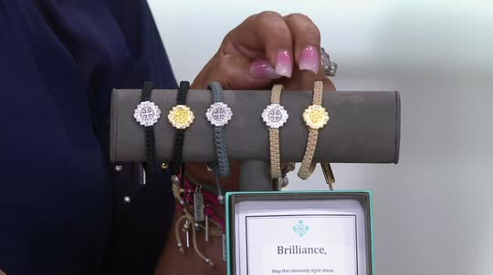 My Saint My Hero Brilliance Bracelet Qvc Com