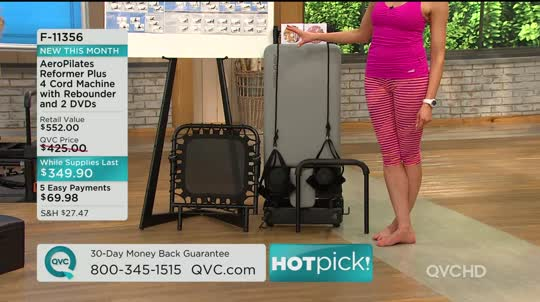 qvc pilates machine