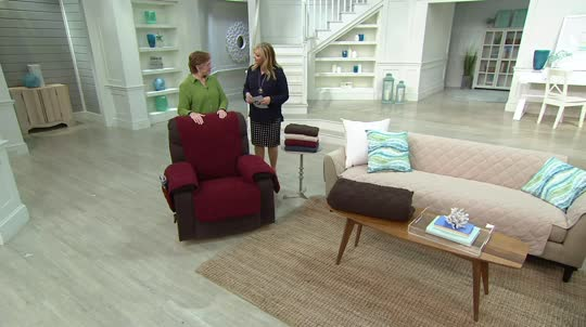 Sure Fit Microfleece Recliner Furniture Cover — QVC
