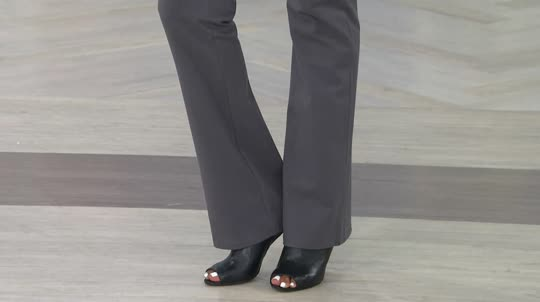 Red dress pants qvc