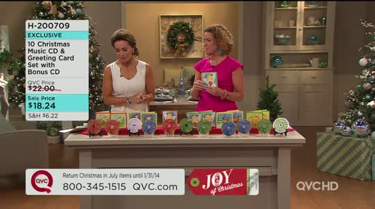 10 Christmas Music CD & Greeting Card Set with Bonus CD - Page 1 ...
