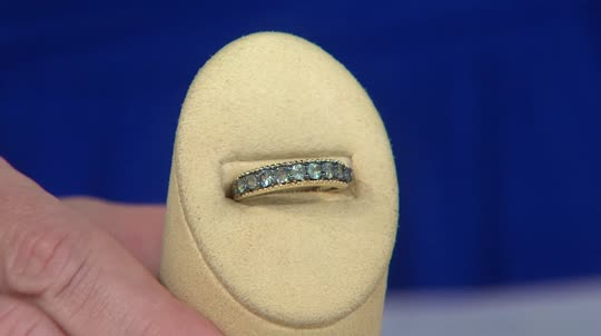 0 50 ct tw Alexandrite Band Ring 14K Gold Page 1 — QVC
