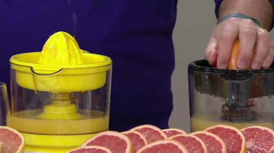 Electric Juicer Pitcher ~ Electric citrus juicer and pitcher k — qvc
