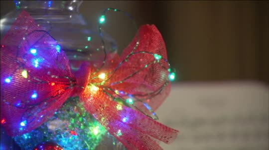 Bethlehem Lights Set of 2 5\' Mini Wire Light Strands with Timer ...