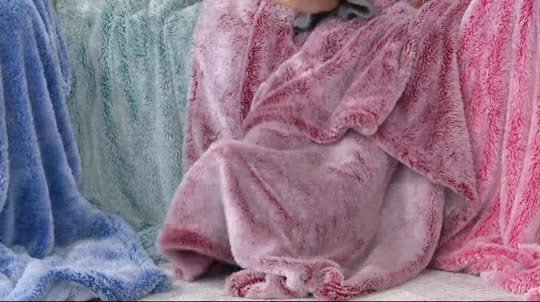 """Berkshire Blanket 60"""" x 80"""" Frosted Tipped Fluffie Throw - Page 1 ..."""