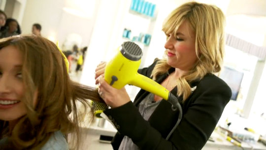 Drybar Buttercup Hair Dryer w Detox Dry Shampoo and Dry Conditioner