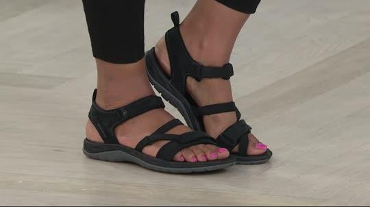 Merrell Multi-Strap Sport Sandals - Siren Strap Q2. Back to video. On-Air  Presentation