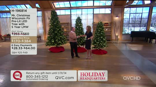 on air presentation - Clearance Christmas Trees