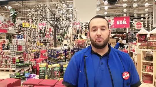 <p>La boutique de Noël !</p>