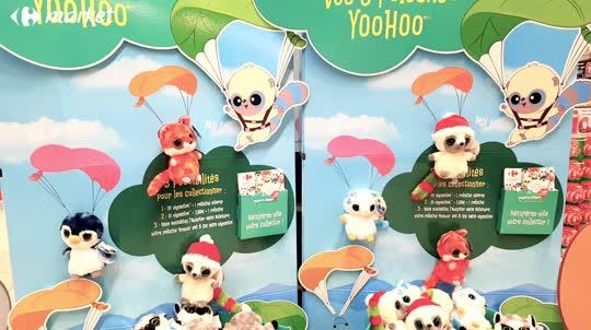 <p>Les peluches YooHoo débarquent dans votre magasin.</p>