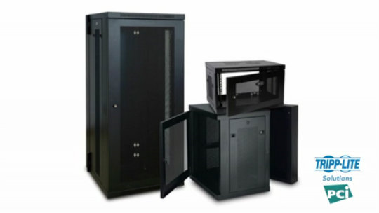 Wall-Mount Rack Solutions for PCI Compliance Demo