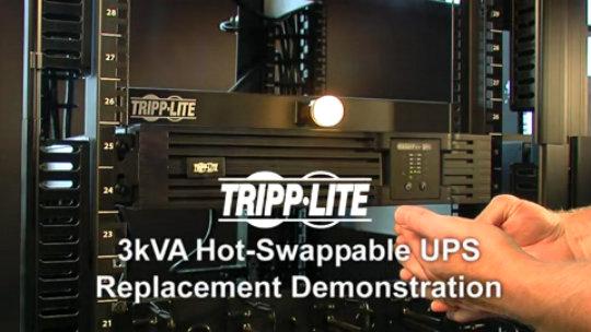 3kVA SmartOnline UPS Hot-Swap Demo