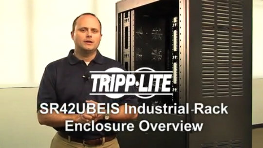 SR42UBEIS SmartRack 42U Industrial Rack Enclosure Demo