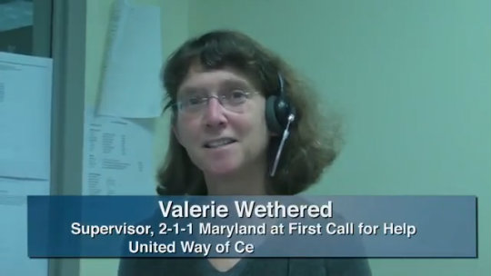 Behind the Scenes of the Maryland United Way Call Center