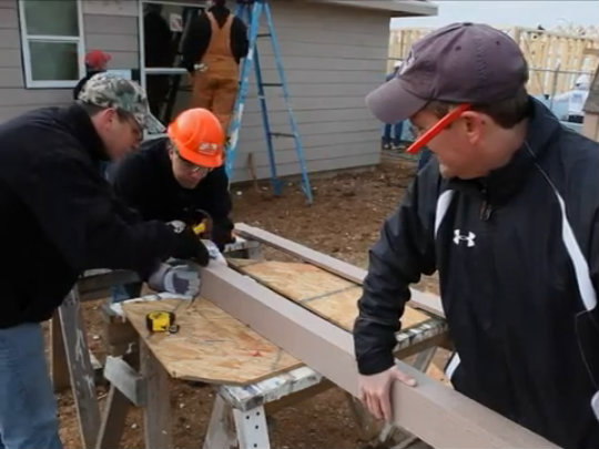 Constellation's Build with Habitat for Humanity