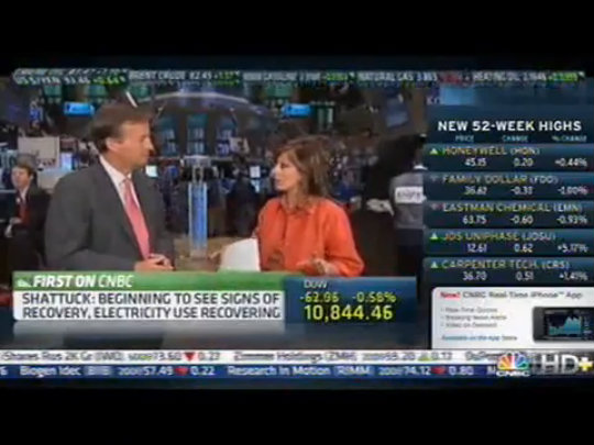 CNBC-Mayo Shattuck 2010