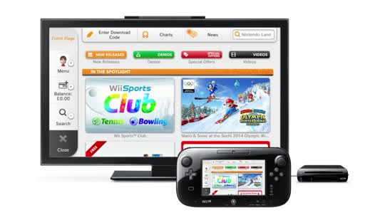 Purchasing software from Nintendo eShop