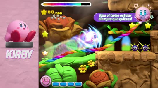 Wii-U-Kirby-And-The-Rainbow-Course-amiibo-Trailer-esES
