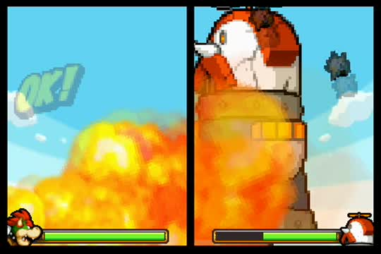 Bowser: Giant battle