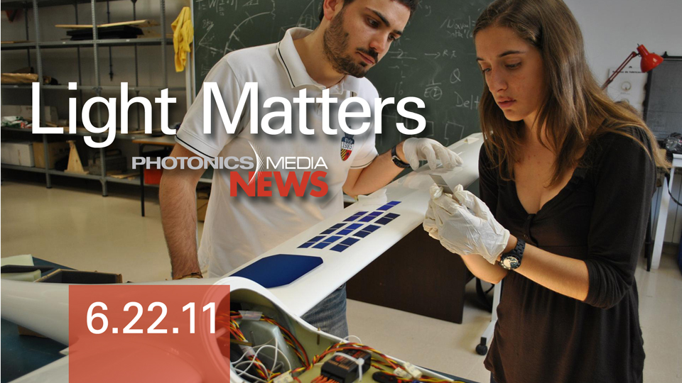 6/22/11 - Peanut Allergies & UV Light, Quantum Dots, Solar Planes & Laser Bike Safety - LIGHT MATTERS
