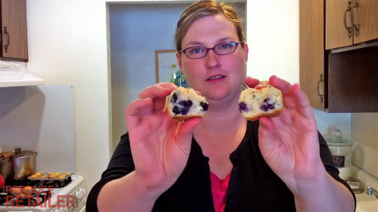 Pamela's Kitchen: Concord Blueberry Muffin Mix