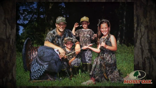 Mossy Oak Represents Family