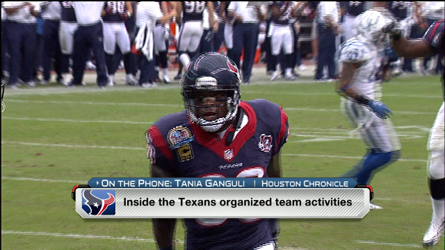Inside Texans organized team activities