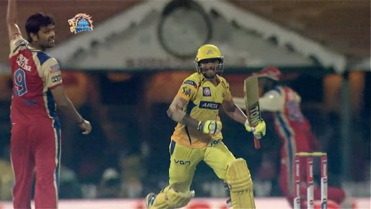M16: CSK vs RCB – Last Over Drama