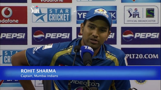 M73: CSK vs MI – Rohit Sharma Press Conference