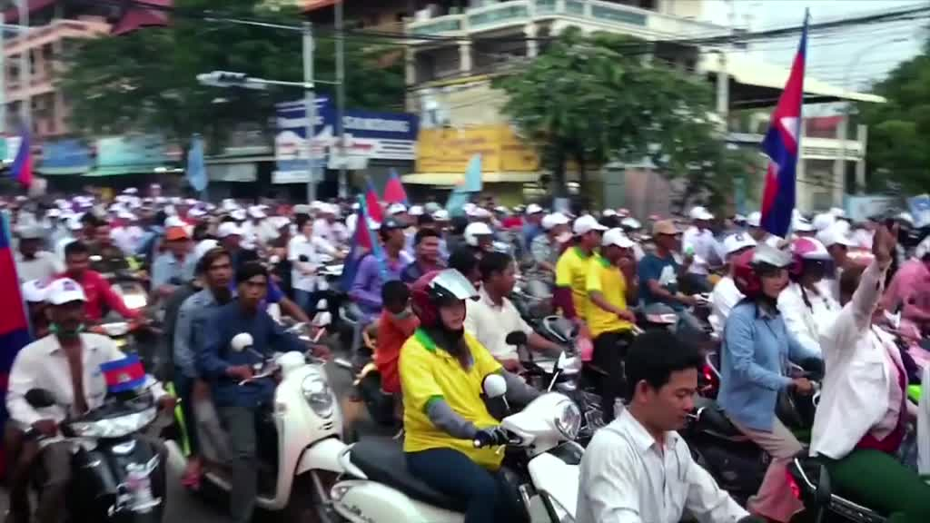 Cambodia's Election Crackdown