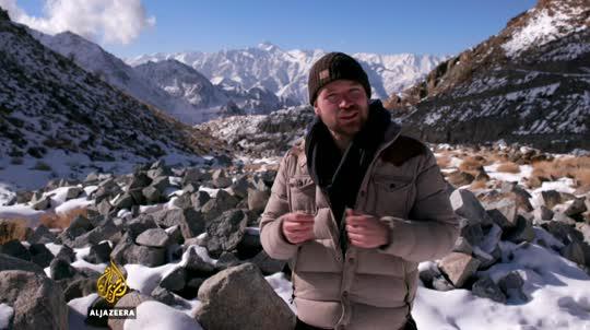Earthrise – Ladakh's Ice Stupas