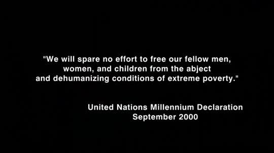Das Armutszeugnis - Auf den Spuren der UN-Millenniumsziele