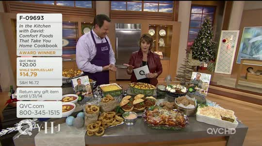 in the kitchen with david comfort foods that take you home cookbook qvc com rh qvc com qvc in the kitchen with david temptations qvc in the kitchen with david temptations