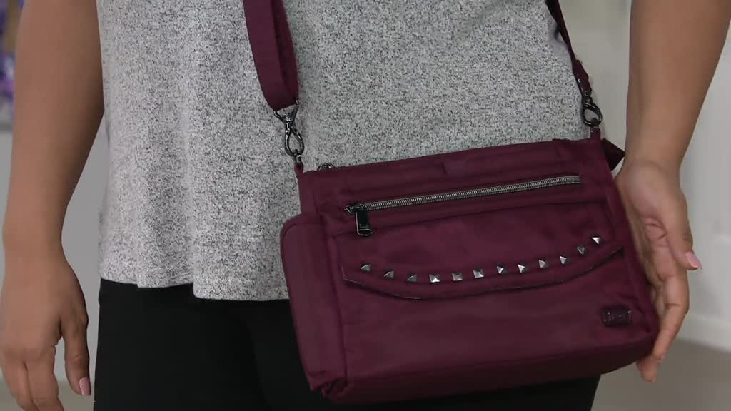 dd1ab3b5827c Lug Studded Crossbody Bag - Pacer. Back to video. On-Air Presentation
