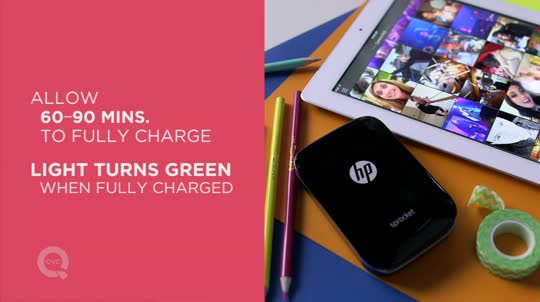 Hp Sprocket Portable Photo Printer For Mobile Devices Page 1 Qvccom