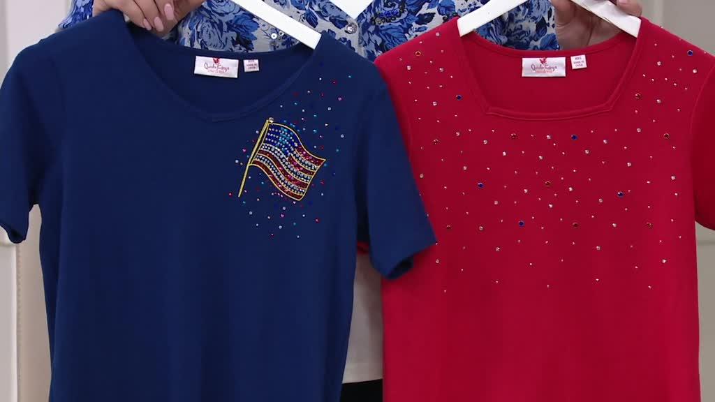 19af2bf31e403 ... Summer Sparkle Short Sleeve T-shirts. Back to video. On-Air Presentation